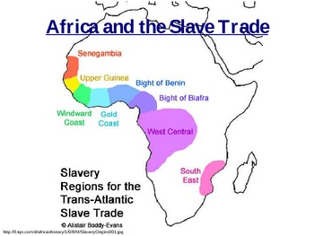 Africa and the Slave Trade PowerPoint