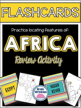 Africa's Geography FLASHCARDS