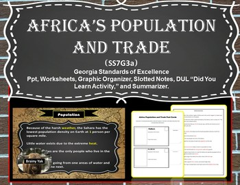 Africa's Population and Trade (SS7G3a)