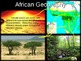 Africa unit (4-part PPT bundle) with FREE guided notes