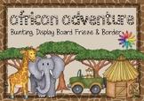 African Adventure Topic Display Board