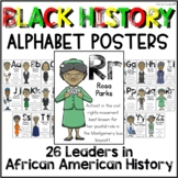 African American ABC Posters