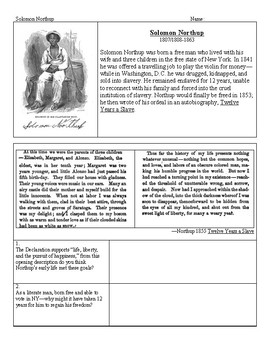 African-American Abolitionist Writers