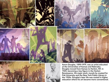 African American Art Presentation + Test = 228 Slides visual Black Negro Art