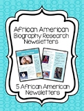 African American Artists- Biographical Newsletters, Research
