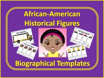 African-American Biographical Templates