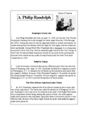 African-American Biography Series-A. Philip Randolph
