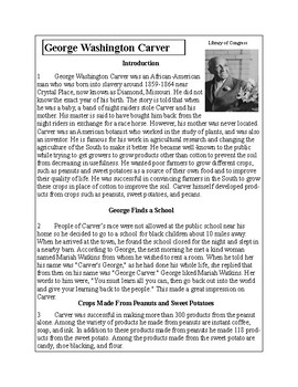 African-American Biography Series-George Washington Carver