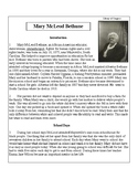 African-American Biography Series-Mary McLeod Bethune