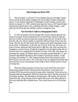 African-American Biography Series-Ruby Bridges