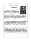 African-American Biography Series-Thurgood Marshall