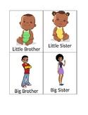 African-American/Black Family Members Flashcards