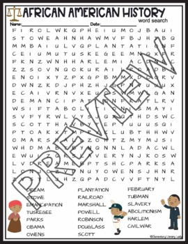picture about Black History Crossword Puzzle Printable named Black Record Thirty day period Functions African American Crossword Puzzle Phrase Appear