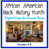 African American Black History Month Interactive Escape Ro