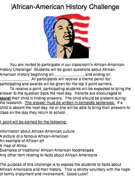African-American History Challenge