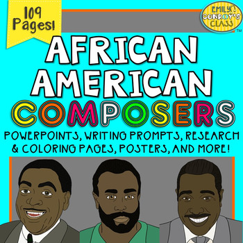 African American Composers (Activities and PowerPoints for Famous Composers)