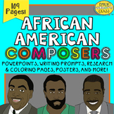 African American Composers (Black History Month Music Activities & PowerPoints)