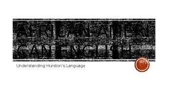 African-American English: Understanding Hurston's Language