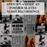 African-American Former Slaves Audio Recordings