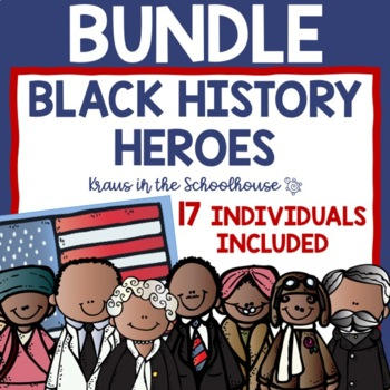 Black History Heroes Research Activities and Graphic Organizers
