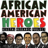 African American Biography & Black History Research Project   Google Slides