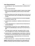 African-American Heroes: Subject/ Verb Agreement Worksheet