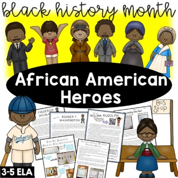 Black History Month Activities - African American Heroes
