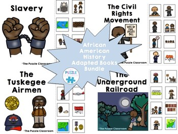 African American History Adapted Book Bundle