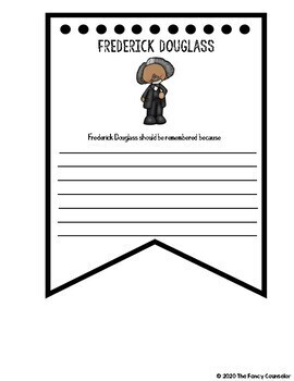 African American History BUNDLE Banner Research Report Templates COMPLETE SET