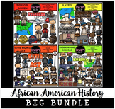 African American History Big Bundle {Educlips Clipart}