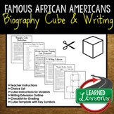 African American History Activity Biography Cubes (American and World History)