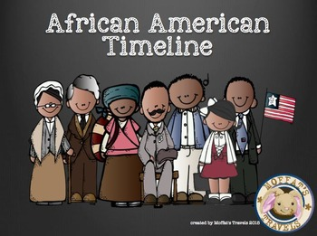 african american history characters powerpoint and timeline by