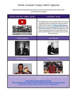 African American History Hyperdoc