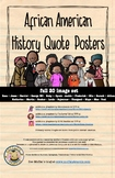 African American History Quote Posters