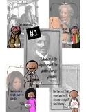 African American History Makers Quote Posters Volume 1