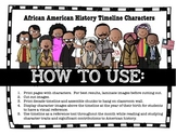 MEGA African American History Makers Timeline Pack