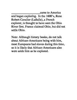 African American History Montessori Nomenclature