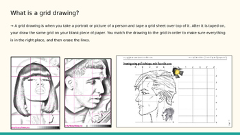 African American History Month Art Grid Drawing Project