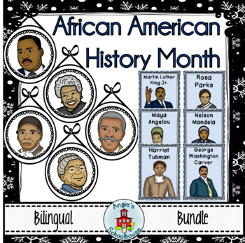 Black History Month Bilingual Bundle