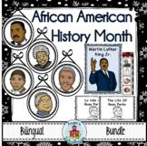 Martin Luther King Jr. and Black History Month Bilingual Bundle
