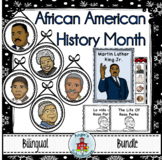 Martin Luther King Jr. and Black History Month Bilingual Bundle