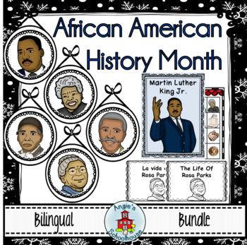 Black History Month Bilingual Bundle