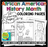 African American History Month Coloring Pages   Black History
