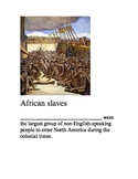 African American History Nomenclature