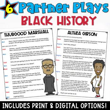 Black History Month Partner Plays