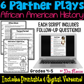Black History Month Partner Plays