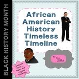 African American History Timeline Brainteaser