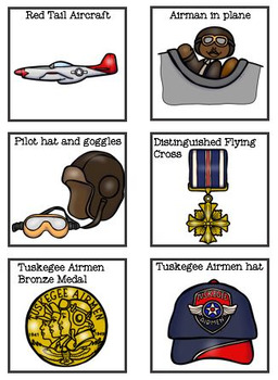 African American History Tuskegee Airman Flashcards Comprehension and Tasks