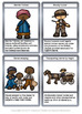 African American History Underground Railroad Flashcards Comprehension and Tasks