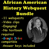 African American History Webquests   Distance Learning